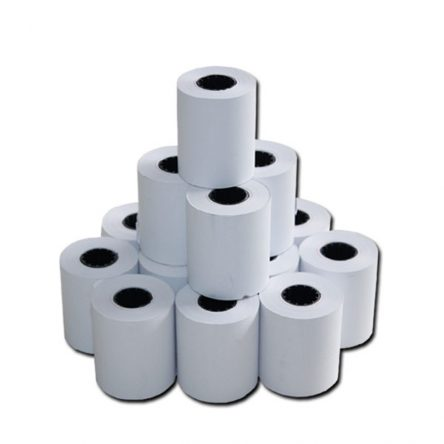 57 mm x 15 Meter Plain Thermal Paper Roll (Pack of 20 Rolls)