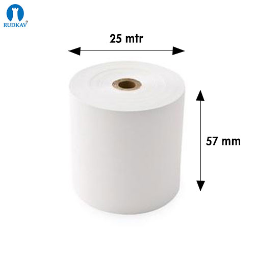 Meter Plain Thermal Paper Roll