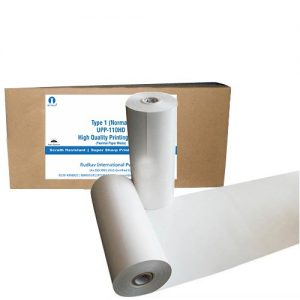 White Ultrasound Thermal Paper UPP