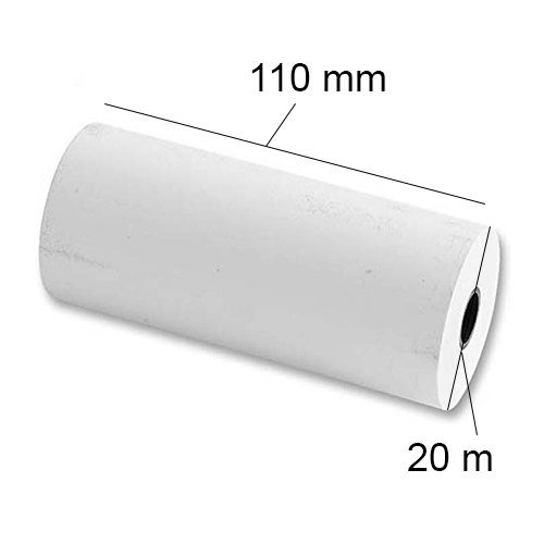 White Ultrasound Thermal Paper